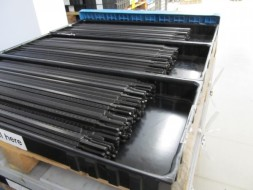 Plastic parts for the automotive industry, logistic packaging