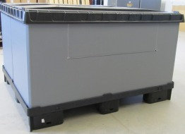 Omnibox pallet box, 1,200 x 1,000 mm