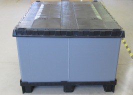 Collapsible pallet Omnibox, 1,200 x 1,000 mm