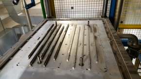 EPP mould for a bar