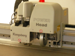 Kongsberg 3D Plotter machine