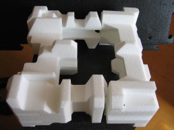 EPP plastics, packaging for placing electronics